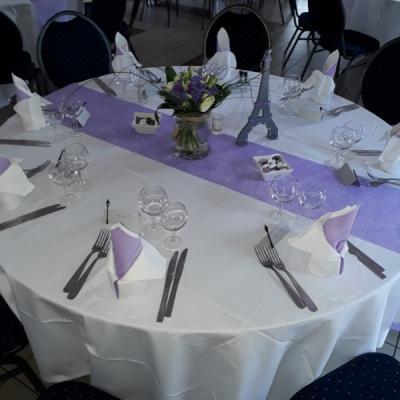 Les photos de notre salle de réception et de nos plats